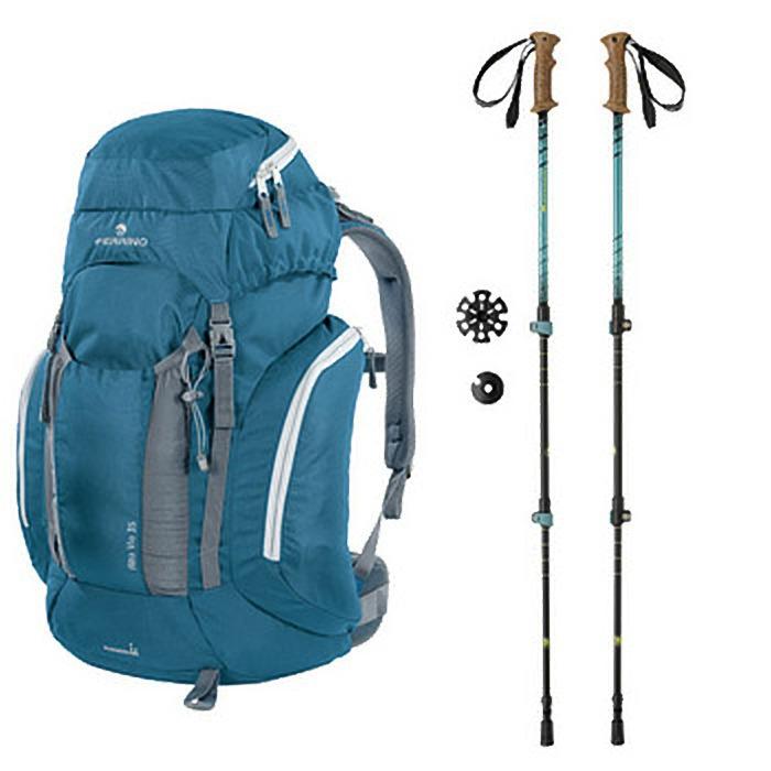 Kit outdoor Zaino e Bastoncini