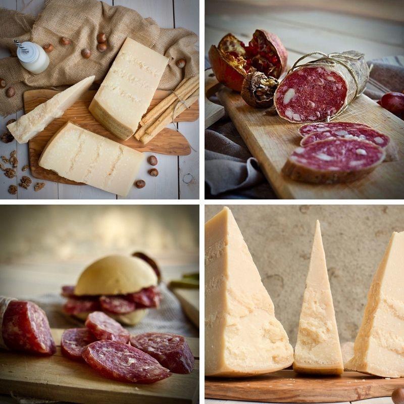 Parmigiano Reggiano 36M +strolghino culatello