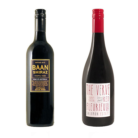 AUSTRALIAN Wines Selection