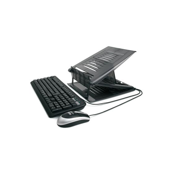 Notebook Stand con Tastiera e Mouse