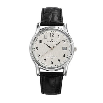 Orologio Vintage Black in pelle
