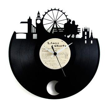 Orologio in vinile con pendolo London