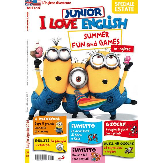 I Love English Junior - Abbonamento Annuale