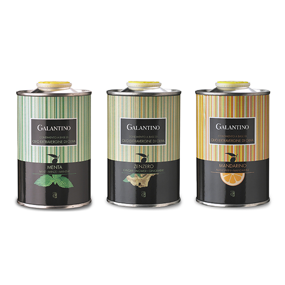 SET di 3 Oli aromatizzati in lattina