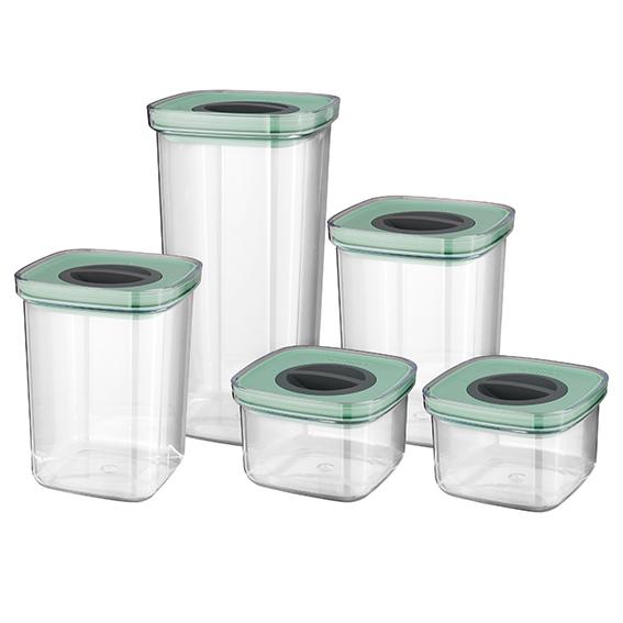 Set di 5 contenitori a tenuta intelligente