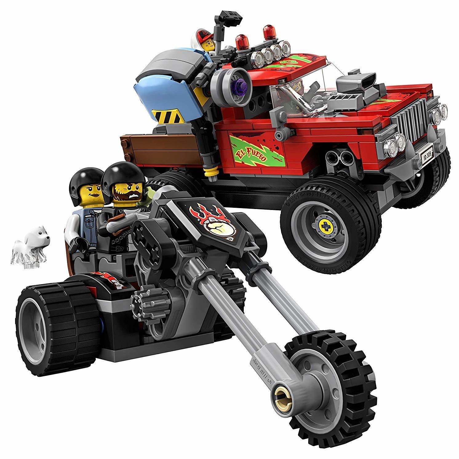 Lo Stunt Truck di El Fuego con APP