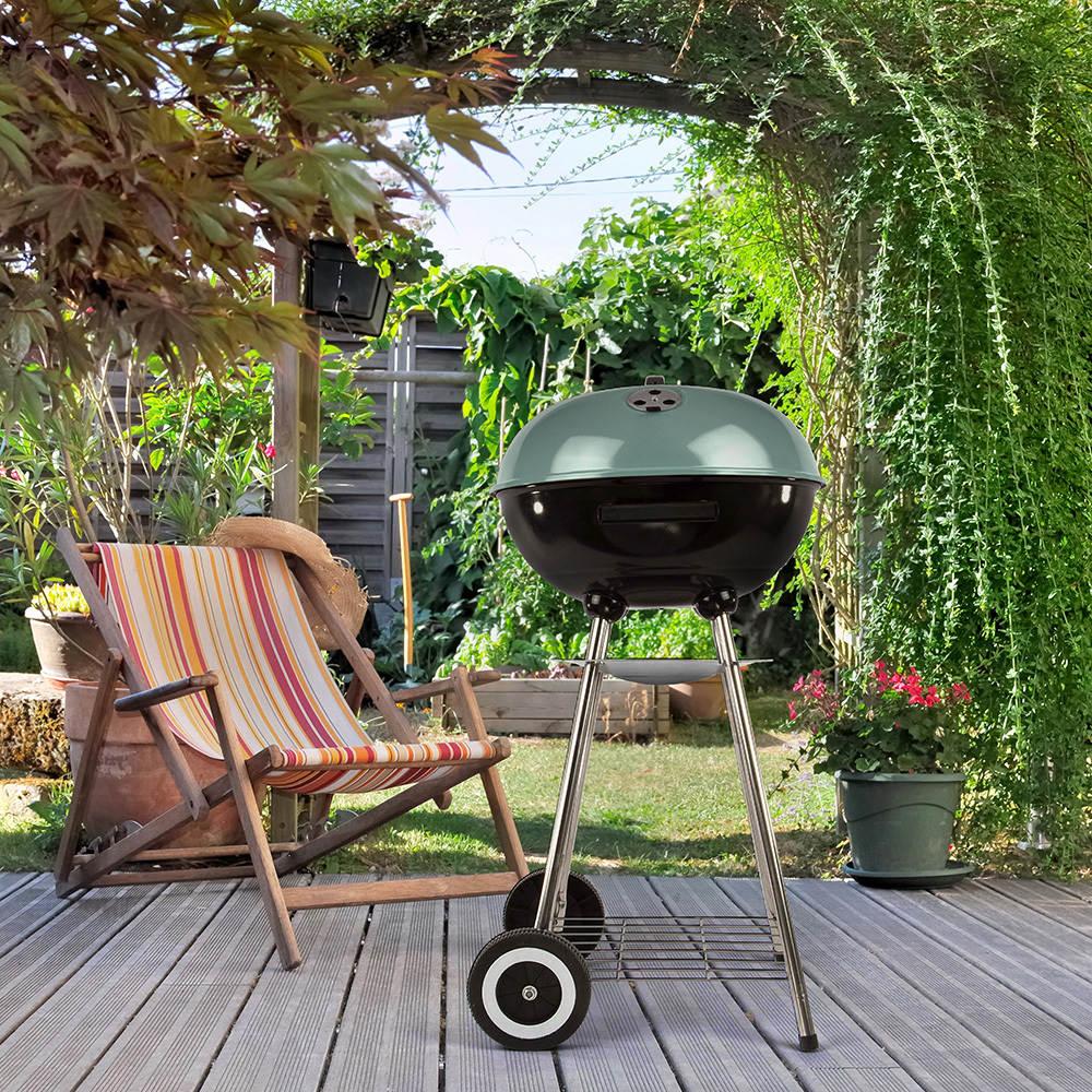 Grill Barbecue con ruote