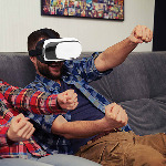 Maschera realtà virtuale