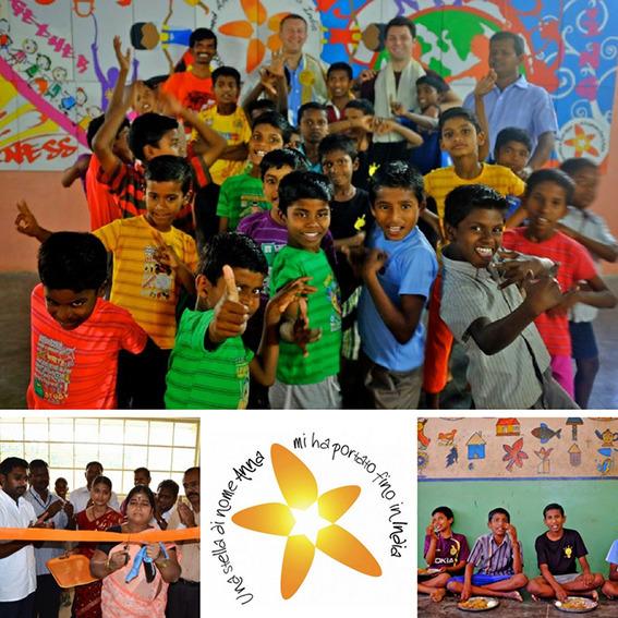 Supporto per la costruzione dell'orfanotrofio